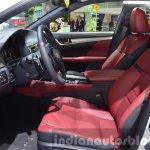 Lexus GS F Sport 200t front seats at IAA 2015