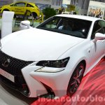 Lexus GS F Sport 200t front three quarter left at IAA 2015