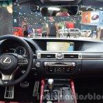 Lexus GS F Sport 200t interior dashboard at IAA 2015