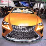 Lexus LF-C2 front at the 2015 Chengdu Motor Show