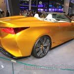 Lexus LF-C2 rear quarter at the 2015 Chengdu Motor Show
