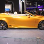 Lexus LF-C2 side at the 2015 Chengdu Motor Show