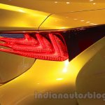 Lexus LF-C2 taillight at the 2015 Chengdu Motor Show