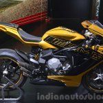 MV Agusta F3 800 side inspired by the Mercedes-AMG GT at IAA 2015