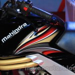 Mahindra Centuro Disc Brake fuel tank Nepal Auto Show 2015