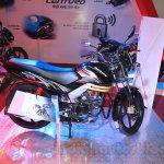 Mahindra Centuro Disc Brake side right Nepal Auto Show 2015