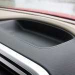 Mahindra TUV300 cubby hole first drive review