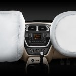 Mahindra TUV300 front dual airbags website image