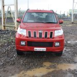 Mahindra TUV300 front launched in India
