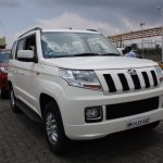 Mahindra TUV300 front quarter (1) first drive review