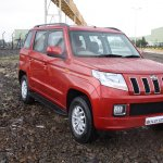 Mahindra TUV300 front quarter first drive review
