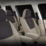 Mahindra TUV300 front seats website image