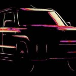 Mahindra TUV300 front three quarter teaser image enhanced