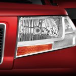 Mahindra TUV300 headlamp website image