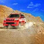 Mahindra TUV300 in action website image