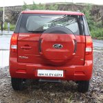 Mahindra TUV300 rear launched in India