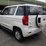 Mahindra TUV300 rear three quarter first drive review