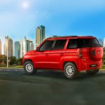 Mahindra TUV300 rear three quarters website image