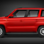 Mahindra TUV300 side profile website image