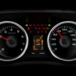 Mahindra TUV300 twin pod instrument cluster website image
