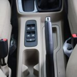 Mahindra TUV300 window controls and handbrake lever first drive review