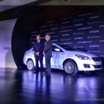 Maruti Ciaz SHVS front three quarter launched in India