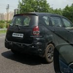 Maruti Ertiga facelift rear India spied