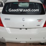 Maruti Swift SP Limited Edition begins rear arriving at dealership