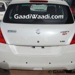 Maruti Swift SP Limited Edition begins rear arriving at dealership