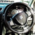 Maruti Swift SP Limited Edition steering wheel begins arriving at dealership
