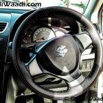 Maruti Swift SP Limited Edition steering wheel begins arriving at dealership