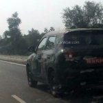 Maruti YBA rear quarter mini SUV spied