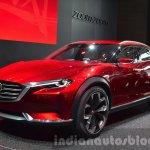Mazda Koeru Concept front three quarter at IAA 2015