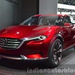Mazda Koeru Concept front three quarter view at IAA 2015