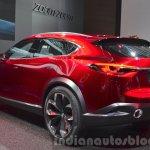 Mazda Koeru Concept rear three quarter left at IAA 2015