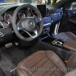 Mercedes-AMG GLE 63 Coupe cockpit at the 2015 Chengdu Motor Show