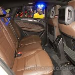 Mercedes-AMG GLE 63 Coupe rear seats at the 2015 Chengdu Motor Show