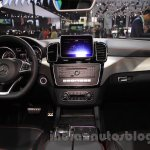 Mercedes-Benz GLE 450 AMG Coupe dashboard at the 2015 Chengdu Motor Show