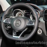 Mercedes-Benz GLE 450 AMG Coupe steering at the 2015 Chengdu Motor Show