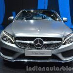 Mercedes C Class Coupe front at the IAA 2015