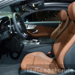 Mercedes C Class Coupe front seats at the IAA 2015