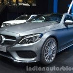 Mercedes C Class Coupe front three quarter at the IAA 2015