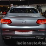 Mercedes C Class Coupe rear at the IAA 2015