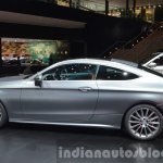 Mercedes C Class Coupe side at the IAA 2015