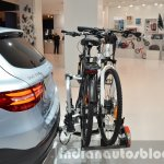 Mercedes GLC accessories cycle carrier at IAA 2015