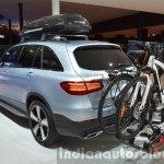Mercedes GLC accessories rear three quarters at IAA 2015
