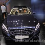 Mercedes Maybach S500 front at the 2015 Chengdu Motor Show