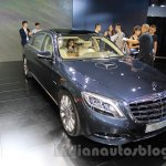 Mercedes Maybach S500 front quarter at the 2015 Chengdu Motor Show