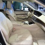 Mercedes Maybach S500 front seats at the 2015 Chengdu Motor Show