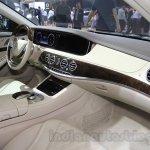 Mercedes Maybach S500 interior at the 2015 Chengdu Motor Show